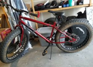 """My Mongoose 26.5"""" Fat Tire Bike is the transportation of choice here in Anchorage, where snow and ice are part of the ride for 5 - 6 months of the year."""